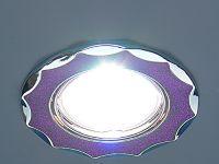 612А Фиолетовый блеск хром